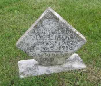 EDGMON, HARRY LEON - Newton County, Arkansas | HARRY LEON EDGMON - Arkansas Gravestone Photos