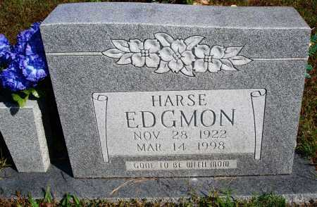 EDGMON, HARSE - Newton County, Arkansas | HARSE EDGMON - Arkansas Gravestone Photos