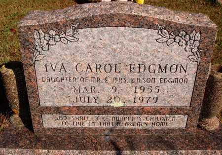 EDGMON, IVA CAROL - Newton County, Arkansas | IVA CAROL EDGMON - Arkansas Gravestone Photos