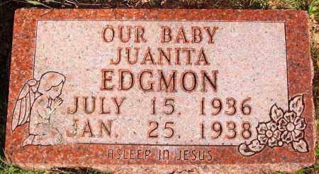 EDGMON, JUANITA - Newton County, Arkansas | JUANITA EDGMON - Arkansas Gravestone Photos