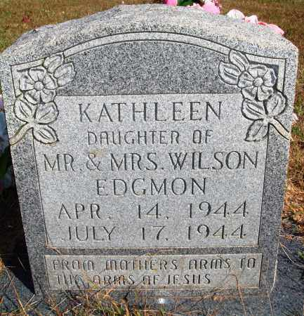EDGMON, KATHLEEN - Newton County, Arkansas | KATHLEEN EDGMON - Arkansas Gravestone Photos