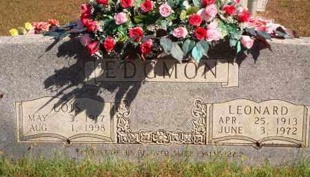 EDGMON, LEONARD - Newton County, Arkansas | LEONARD EDGMON - Arkansas Gravestone Photos