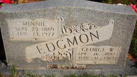 EDGMON, GEORGE W. - Newton County, Arkansas | GEORGE W. EDGMON - Arkansas Gravestone Photos