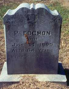 EDGMON, PHILEMON - Newton County, Arkansas | PHILEMON EDGMON - Arkansas Gravestone Photos