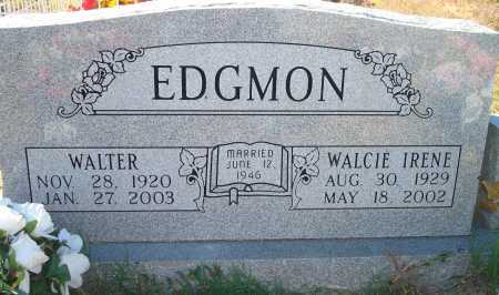 EDGMON, WALTER - Newton County, Arkansas | WALTER EDGMON - Arkansas Gravestone Photos