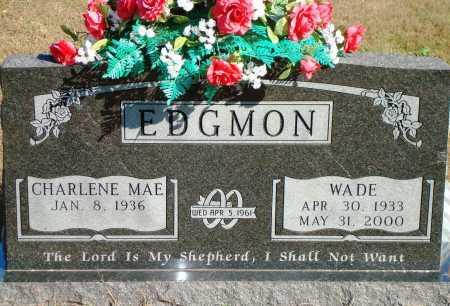 EDGMON, WADE - Newton County, Arkansas | WADE EDGMON - Arkansas Gravestone Photos