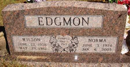 EDGMON, NORMA - Newton County, Arkansas | NORMA EDGMON - Arkansas Gravestone Photos
