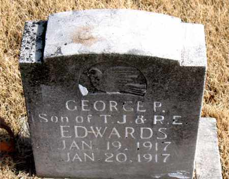 EDWARDS, GEORGE P. - Newton County, Arkansas | GEORGE P. EDWARDS - Arkansas Gravestone Photos