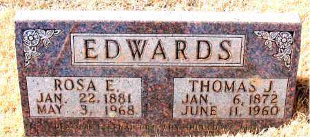 EDWARDS, ROSA E. - Newton County, Arkansas | ROSA E. EDWARDS - Arkansas Gravestone Photos