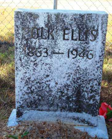 ELLIS, POLK - Newton County, Arkansas | POLK ELLIS - Arkansas Gravestone Photos