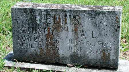 ELLIS, W L - Newton County, Arkansas | W L ELLIS - Arkansas Gravestone Photos