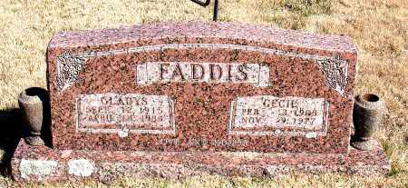 FADDIS, CECIL - Newton County, Arkansas | CECIL FADDIS - Arkansas Gravestone Photos