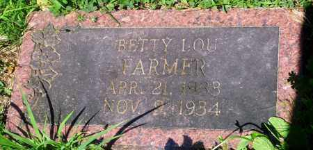 FARMER, BETTY LOU - Newton County, Arkansas | BETTY LOU FARMER - Arkansas Gravestone Photos
