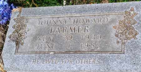 FARMER, JOHNNY HOWARD - Newton County, Arkansas | JOHNNY HOWARD FARMER - Arkansas Gravestone Photos