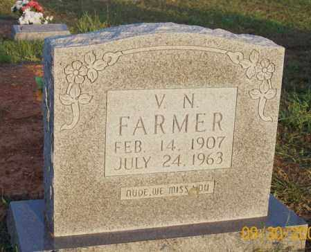 FARMER, V. N. - Newton County, Arkansas | V. N. FARMER - Arkansas Gravestone Photos