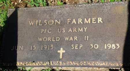FARMER (VETERAN WWII), WILSON - Newton County, Arkansas | WILSON FARMER (VETERAN WWII) - Arkansas Gravestone Photos