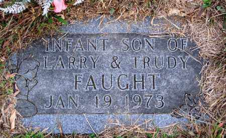 FAUGHT, INFANT SON - Newton County, Arkansas | INFANT SON FAUGHT - Arkansas Gravestone Photos