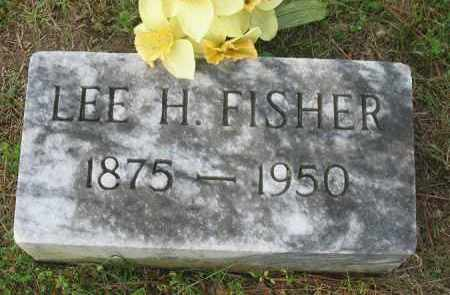FISHER, LEE H. - Newton County, Arkansas | LEE H. FISHER - Arkansas Gravestone Photos