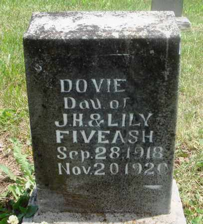 FIVEASH, DOVIE - Newton County, Arkansas | DOVIE FIVEASH - Arkansas Gravestone Photos