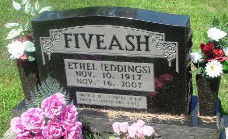 EDDINGS FIVEASH, ETHEL - Newton County, Arkansas | ETHEL EDDINGS FIVEASH - Arkansas Gravestone Photos