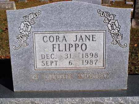 FLIPPO, CORA JANE - Newton County, Arkansas | CORA JANE FLIPPO - Arkansas Gravestone Photos