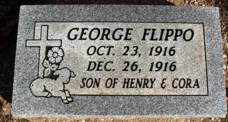 FLIPPO, GEORGE - Newton County, Arkansas | GEORGE FLIPPO - Arkansas Gravestone Photos