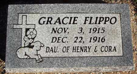 FLIPPO, GRACIE - Newton County, Arkansas | GRACIE FLIPPO - Arkansas Gravestone Photos