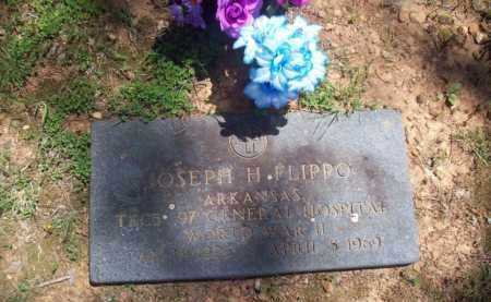 FLIPPO  (VETERAN WWII), JOSEPH HOWARD - Newton County, Arkansas | JOSEPH HOWARD FLIPPO  (VETERAN WWII) - Arkansas Gravestone Photos