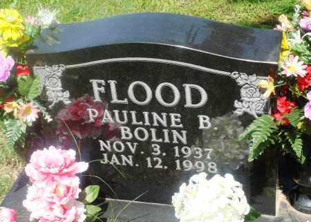 BOLIN FLOOD, PAULINE B. - Newton County, Arkansas | PAULINE B. BOLIN FLOOD - Arkansas Gravestone Photos