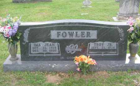 FOWLER, IMA JEAN - Newton County, Arkansas | IMA JEAN FOWLER - Arkansas Gravestone Photos
