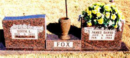 FOX, JAMES DAVID - Newton County, Arkansas | JAMES DAVID FOX - Arkansas Gravestone Photos