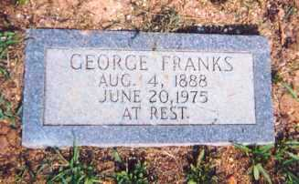 FRANKS, GEORGE - Newton County, Arkansas | GEORGE FRANKS - Arkansas Gravestone Photos