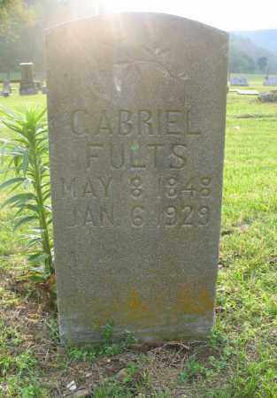 FULTS, GABRIEL - Newton County, Arkansas | GABRIEL FULTS - Arkansas Gravestone Photos