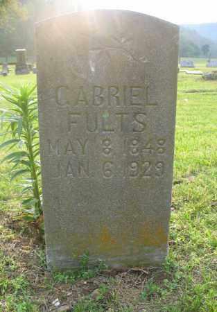 FULTS, GABRIEL - Newton County, Arkansas | GABRIEL FULTS - Arkansas Gravestone Photos