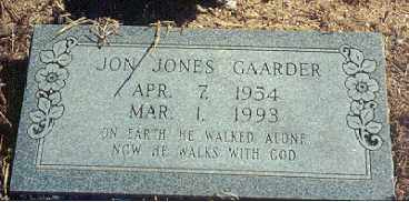 GAARDER, JON JONES - Newton County, Arkansas | JON JONES GAARDER - Arkansas Gravestone Photos