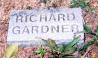GARDNER, RICHARD - Newton County, Arkansas | RICHARD GARDNER - Arkansas Gravestone Photos