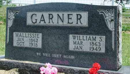 GARNER, WILLIAM S - Newton County, Arkansas | WILLIAM S GARNER - Arkansas Gravestone Photos
