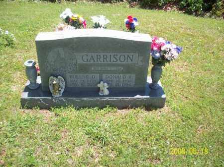 GARRISON, DONALD R - Newton County, Arkansas | DONALD R GARRISON - Arkansas Gravestone Photos