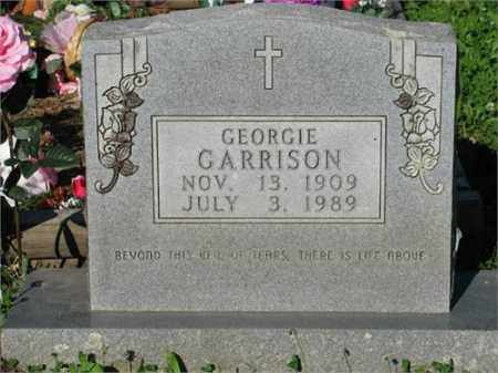 GARRISON, GEORGIE - Newton County, Arkansas | GEORGIE GARRISON - Arkansas Gravestone Photos