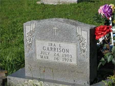 GARRISON, IRA L. - Newton County, Arkansas | IRA L. GARRISON - Arkansas Gravestone Photos