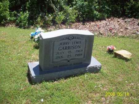 GARRISON, JERRY LEWIS - Newton County, Arkansas | JERRY LEWIS GARRISON - Arkansas Gravestone Photos