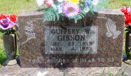 GIBSON, GUFFERY W - Newton County, Arkansas | GUFFERY W GIBSON - Arkansas Gravestone Photos