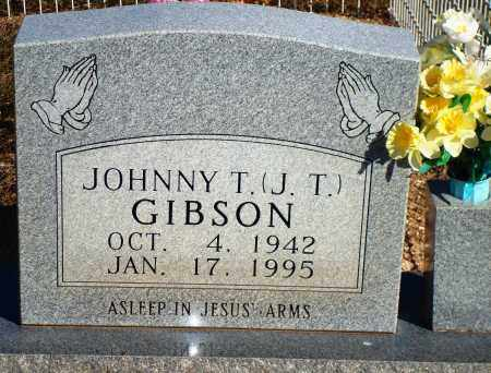 "GIBSON, JOHNNY T. ""J. T."" - Newton County, Arkansas 