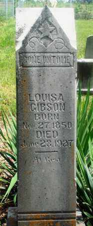 GIBSON, LOUISA - Newton County, Arkansas | LOUISA GIBSON - Arkansas Gravestone Photos