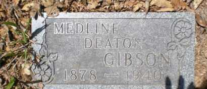 GIBSON, MEDLINE - Newton County, Arkansas | MEDLINE GIBSON - Arkansas Gravestone Photos