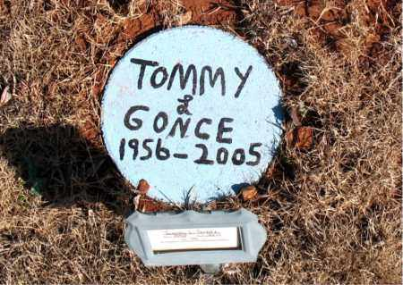 GONCE, TOMMY L. - Newton County, Arkansas | TOMMY L. GONCE - Arkansas Gravestone Photos