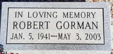 GORMAN, ROBERT - Newton County, Arkansas | ROBERT GORMAN - Arkansas Gravestone Photos