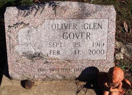 GOVER, OLIVER GLEN - Newton County, Arkansas   OLIVER GLEN GOVER - Arkansas Gravestone Photos