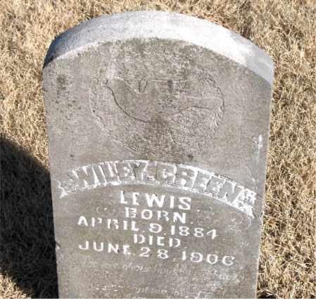 GREEN, WILEY - Newton County, Arkansas   WILEY GREEN - Arkansas Gravestone Photos