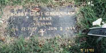 GREENHAW  (VETERAN VIET), BOBBY GENE - Newton County, Arkansas | BOBBY GENE GREENHAW  (VETERAN VIET) - Arkansas Gravestone Photos